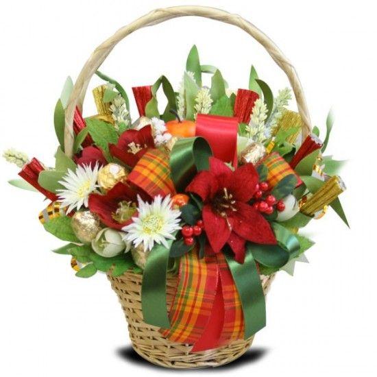 Букеты из конфет с доставкой по москве заказ цветов с доставкой лилии