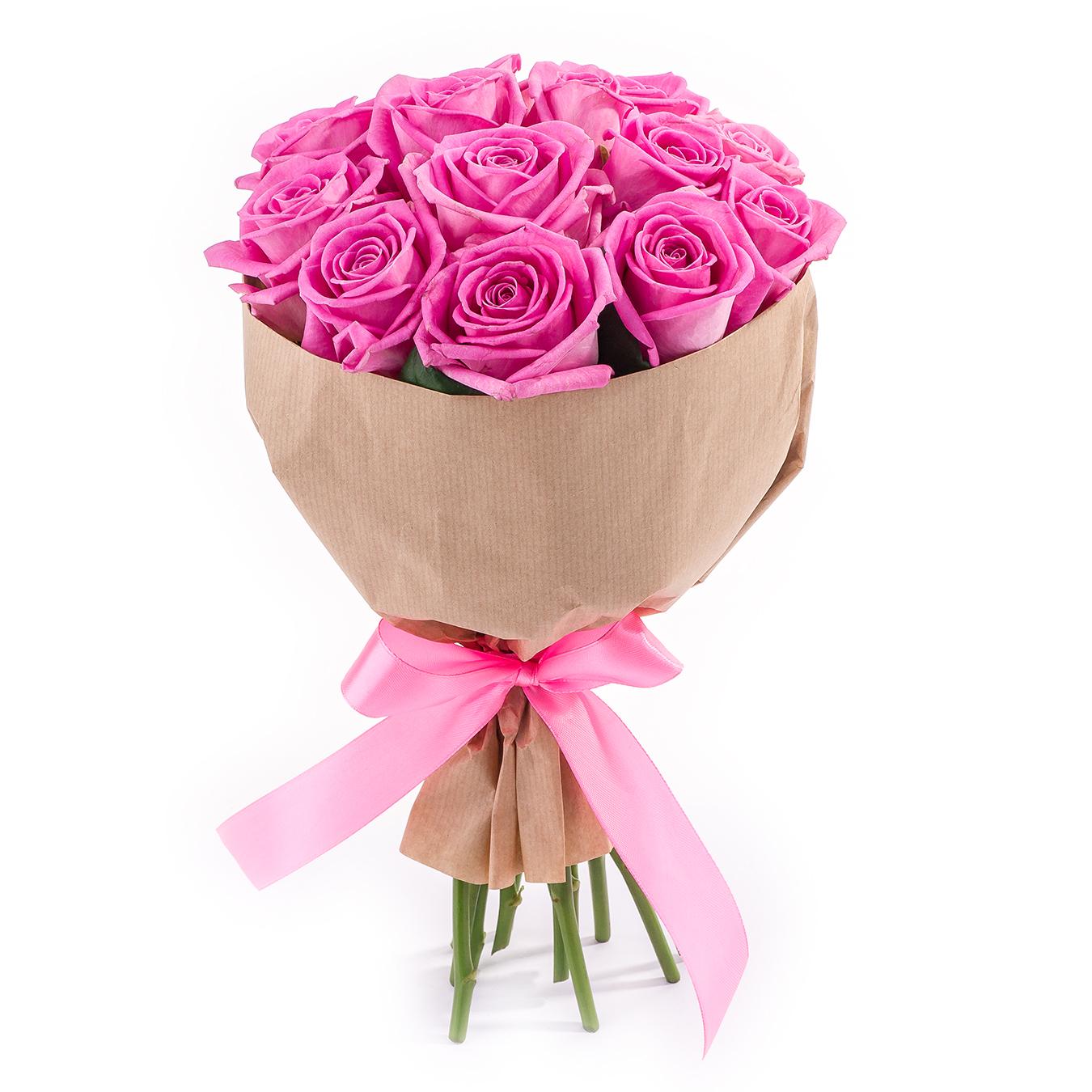 Букет из 13 роз<br>Ингредиенты: Роза (40 см) 13 шт, Крафт 1 шт;