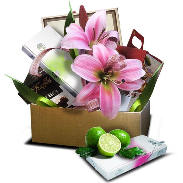 Подарочный набор Праздник розовый<br>