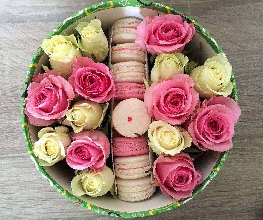 Розы и макаронс<br>