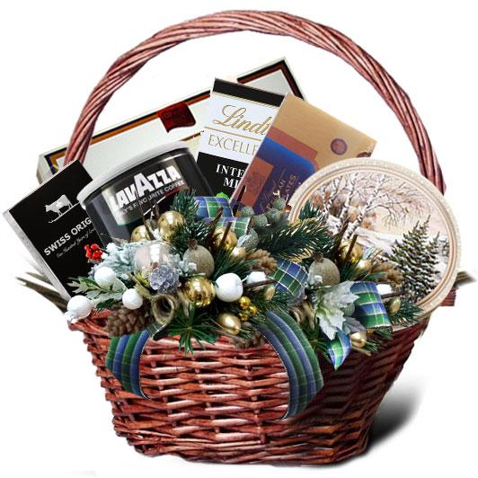 Подарочная корзина Новогодний вестник<br>
