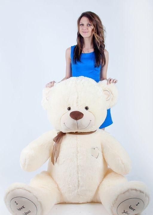 Медведь Макс  бежевый 180 см<br>