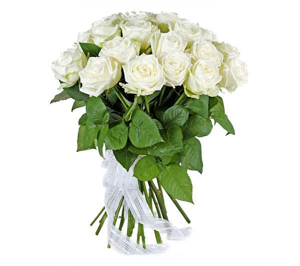 Букет из 17 роз (50см)<br>Ростовка: 50, 60, 70, 80; Состав букета: Розовая роза, Оранжевая роза, Белая роза, Желтая роза, Красная роза, Малиновая роза, Коралловая роза, Кремовая роза;