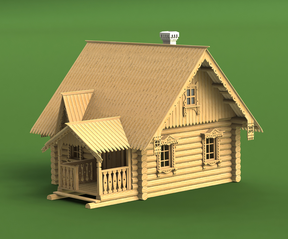 Сторожевой домик, XIX век.<br>