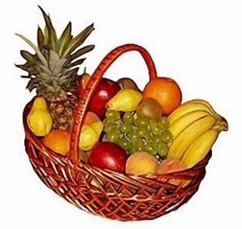 Корзина с фруктами<br>