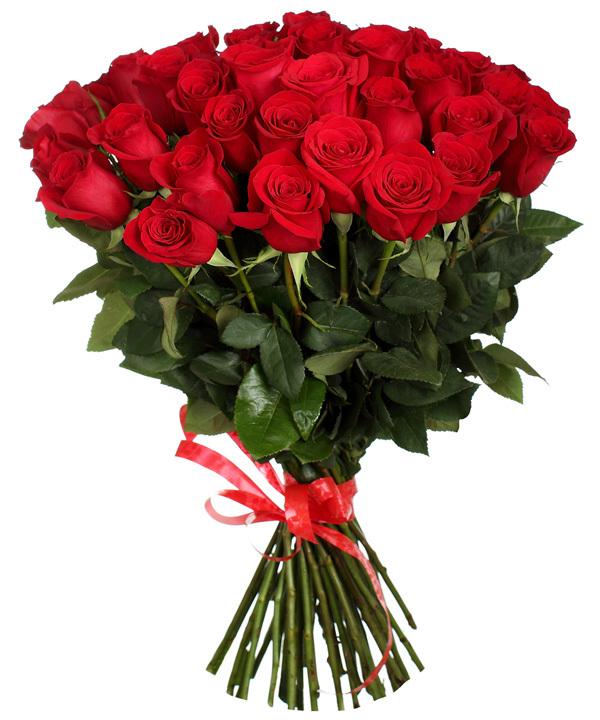 Букет из 75 роз (80см)