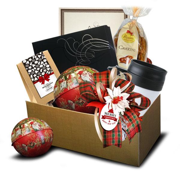 Подарочная корзина Новогодняя<br>