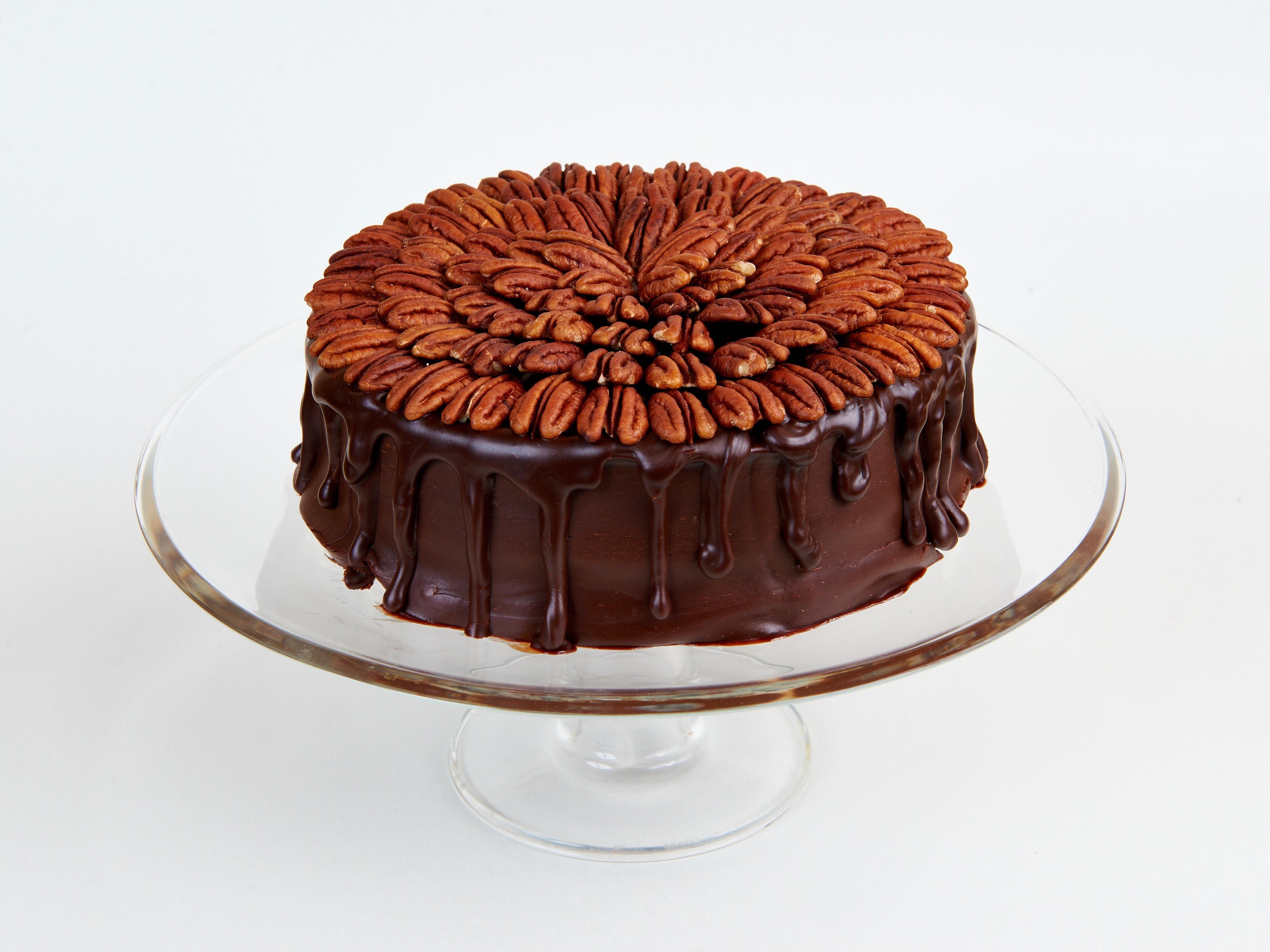 Торт Шоколадный с орехом пекан<br>