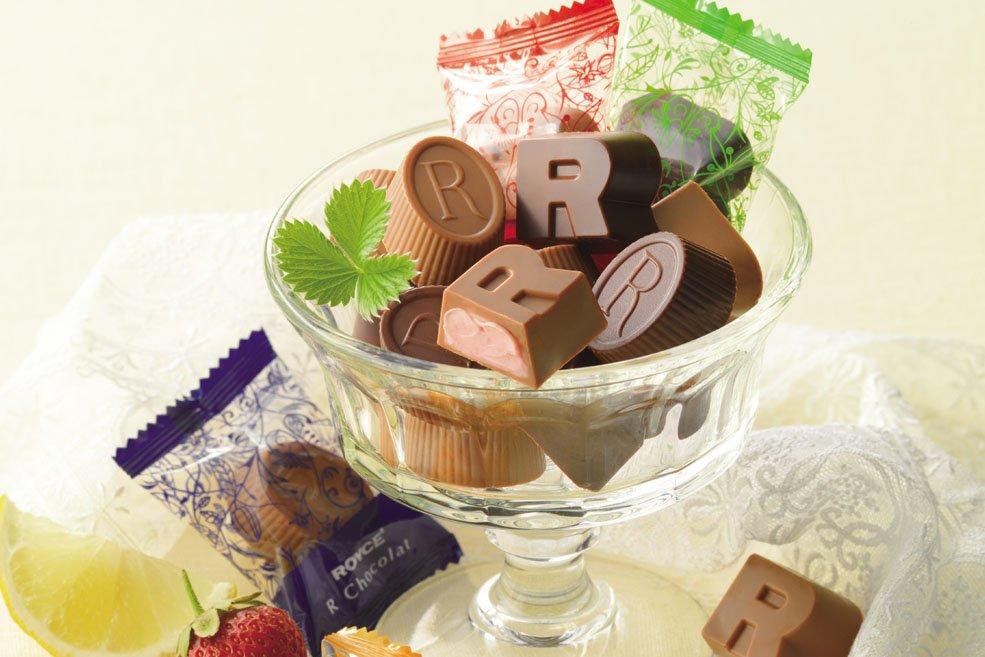 Шоколадные конфеты ROYCE' R<br>