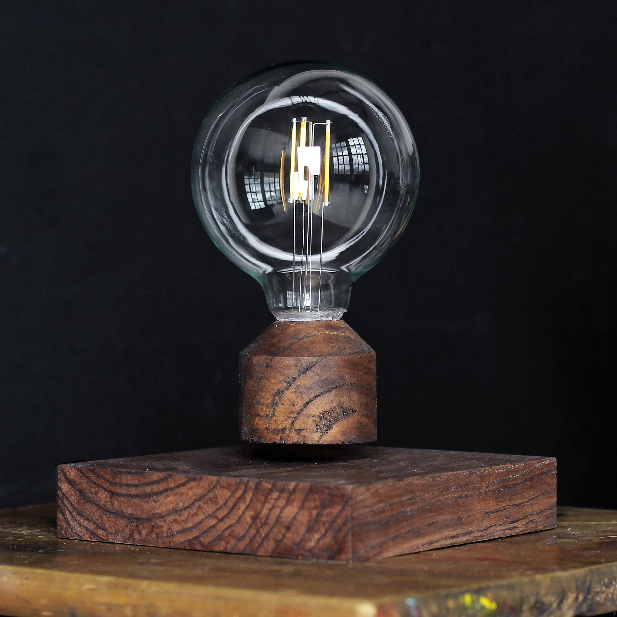 Левитирующий светильник венге<br>