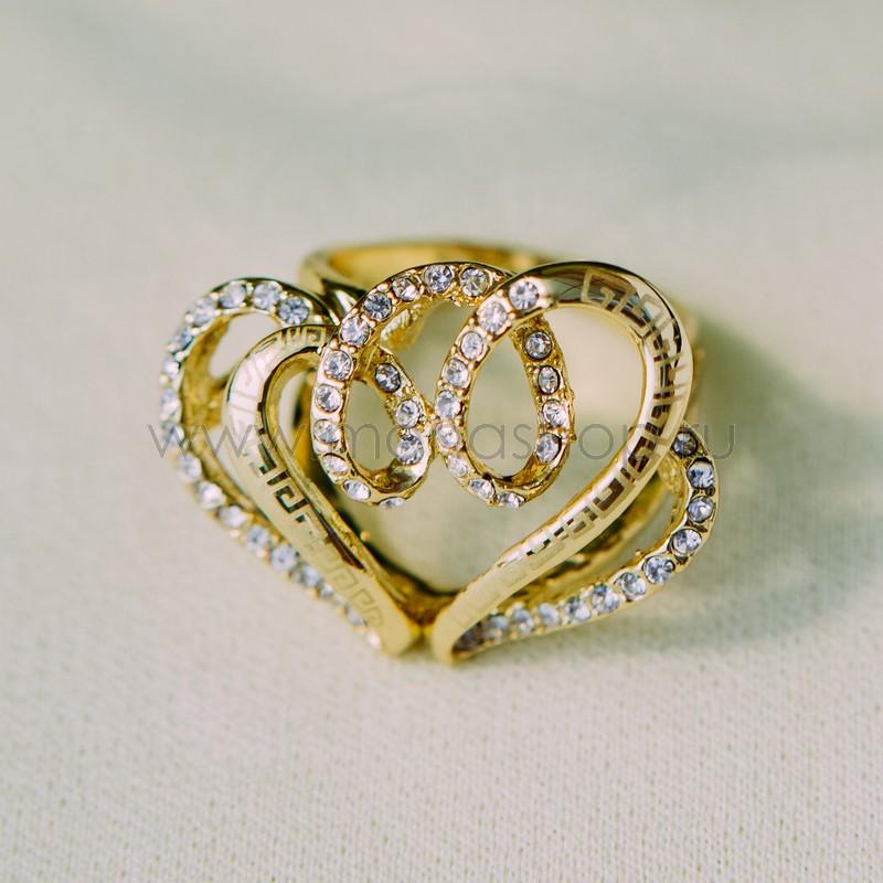 Кольцо Влюбленное сердце<br>