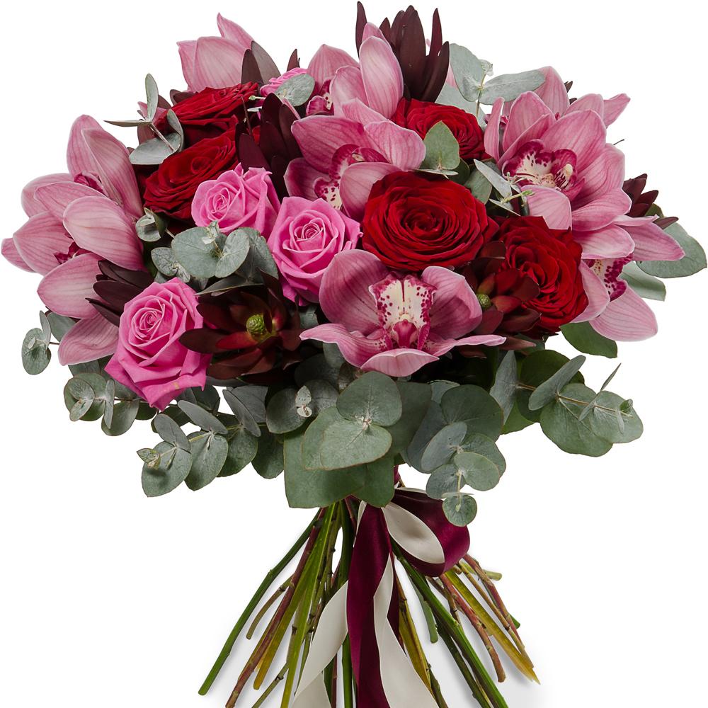 Букеты цветов с розы и описание, стабилизированные цветы