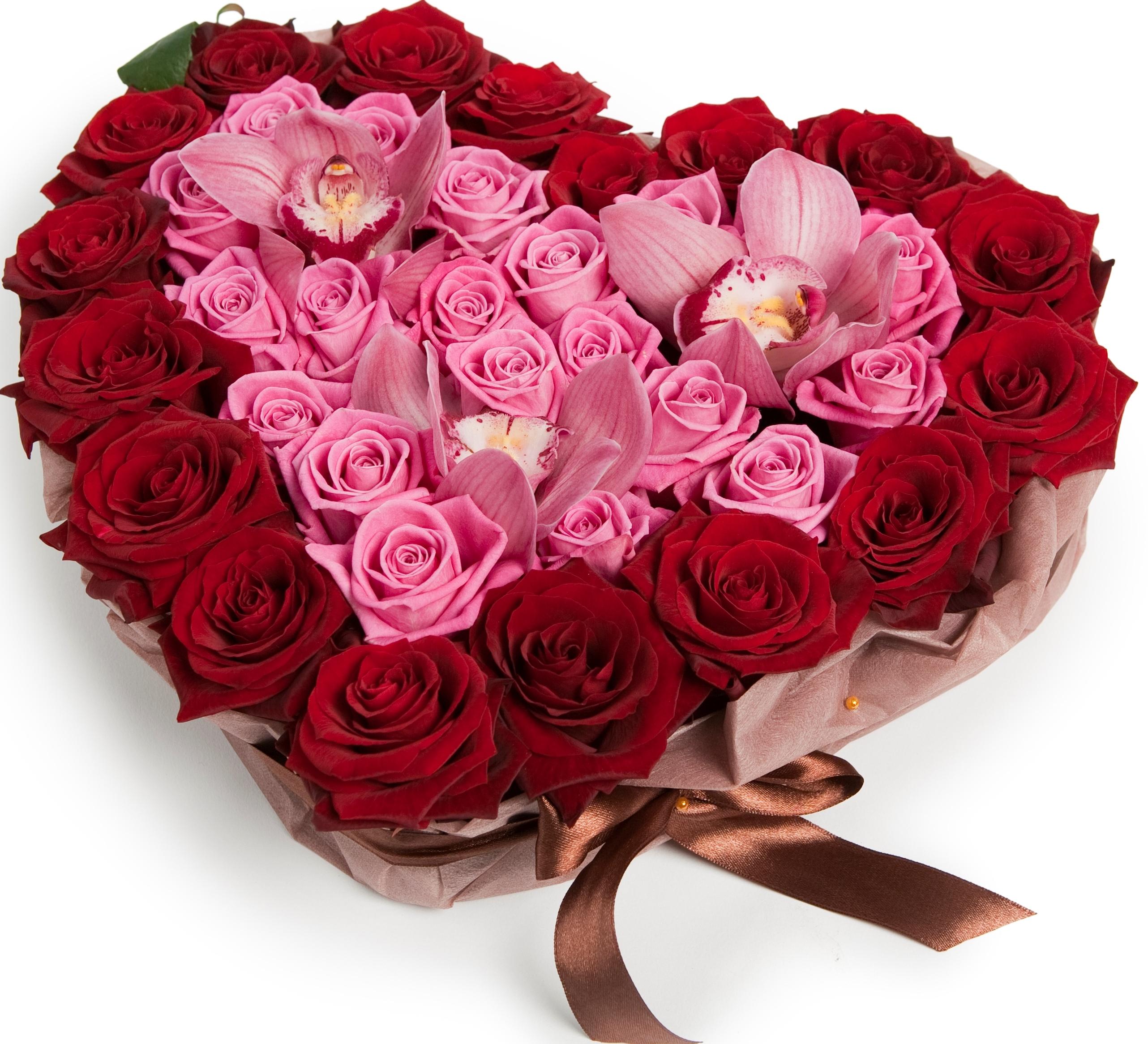Авторский букет цветов Рандеву