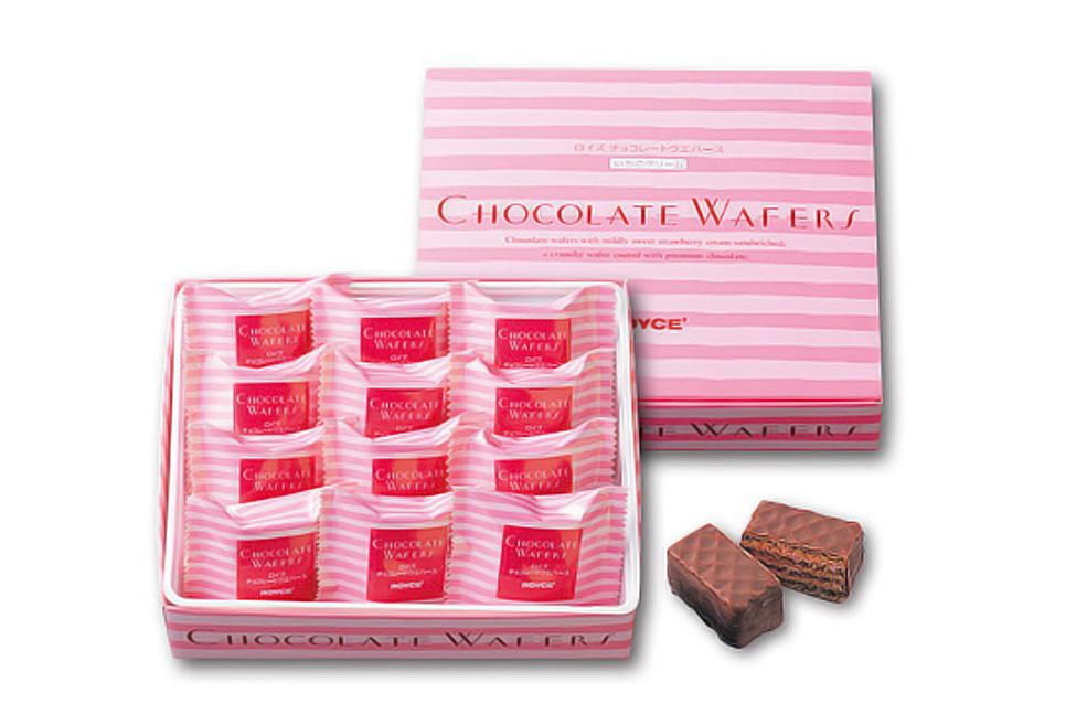 Вафли в шоколаде Клубника<br>