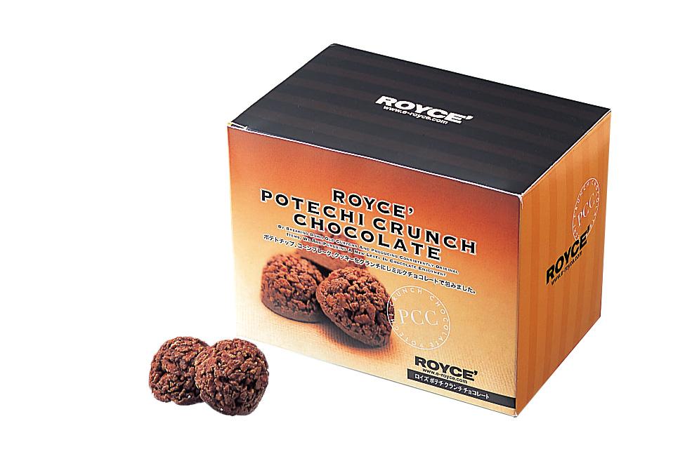 Шоколадные картофельные кранчи<br>