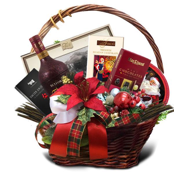 Подарочная корзина Новогодняя искра<br>