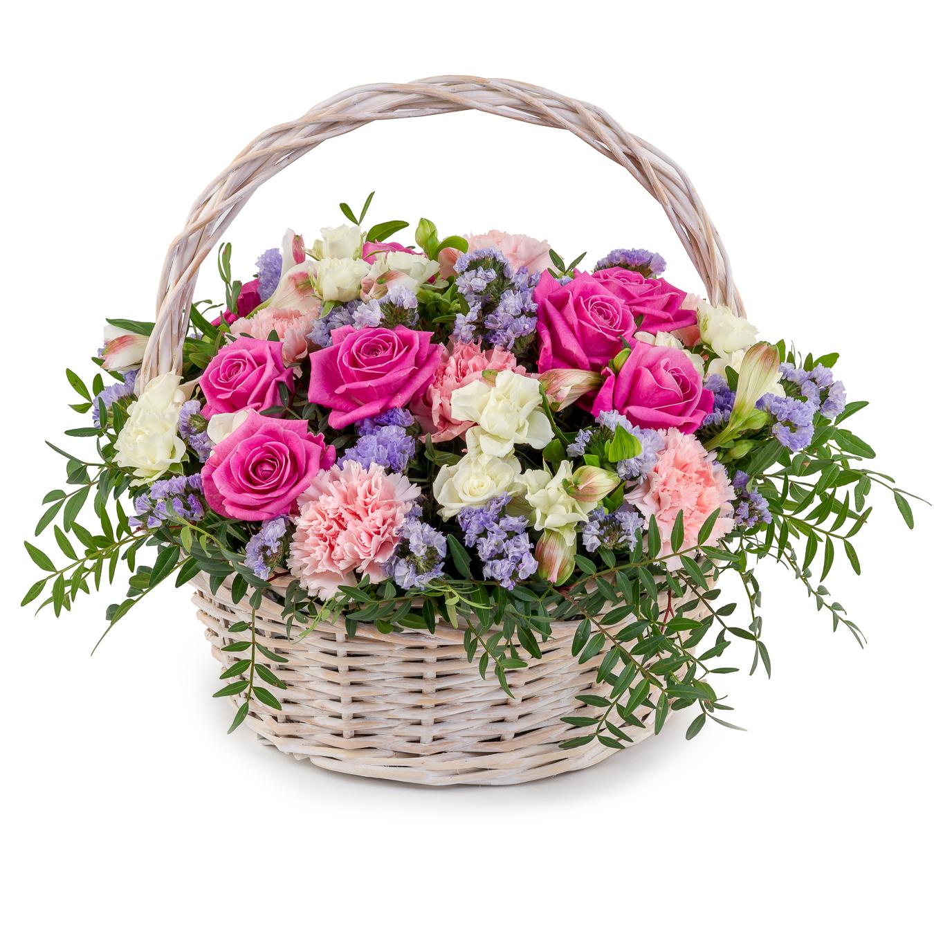 Красивые корзины с цветами картинки букеты сыпь