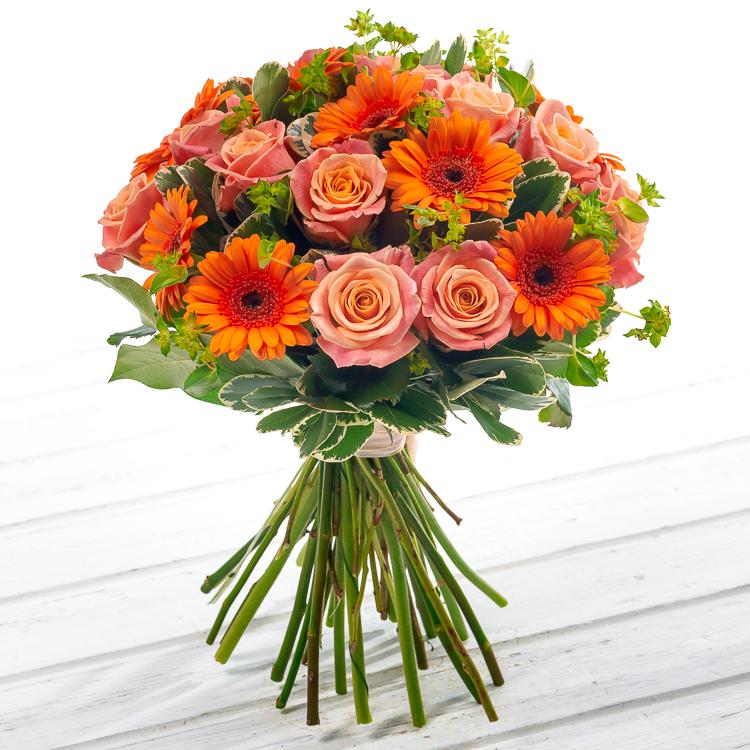 Авторский букет цветов Викторианская осень